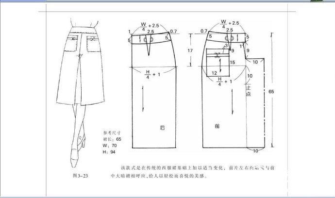 衣服的结构图解