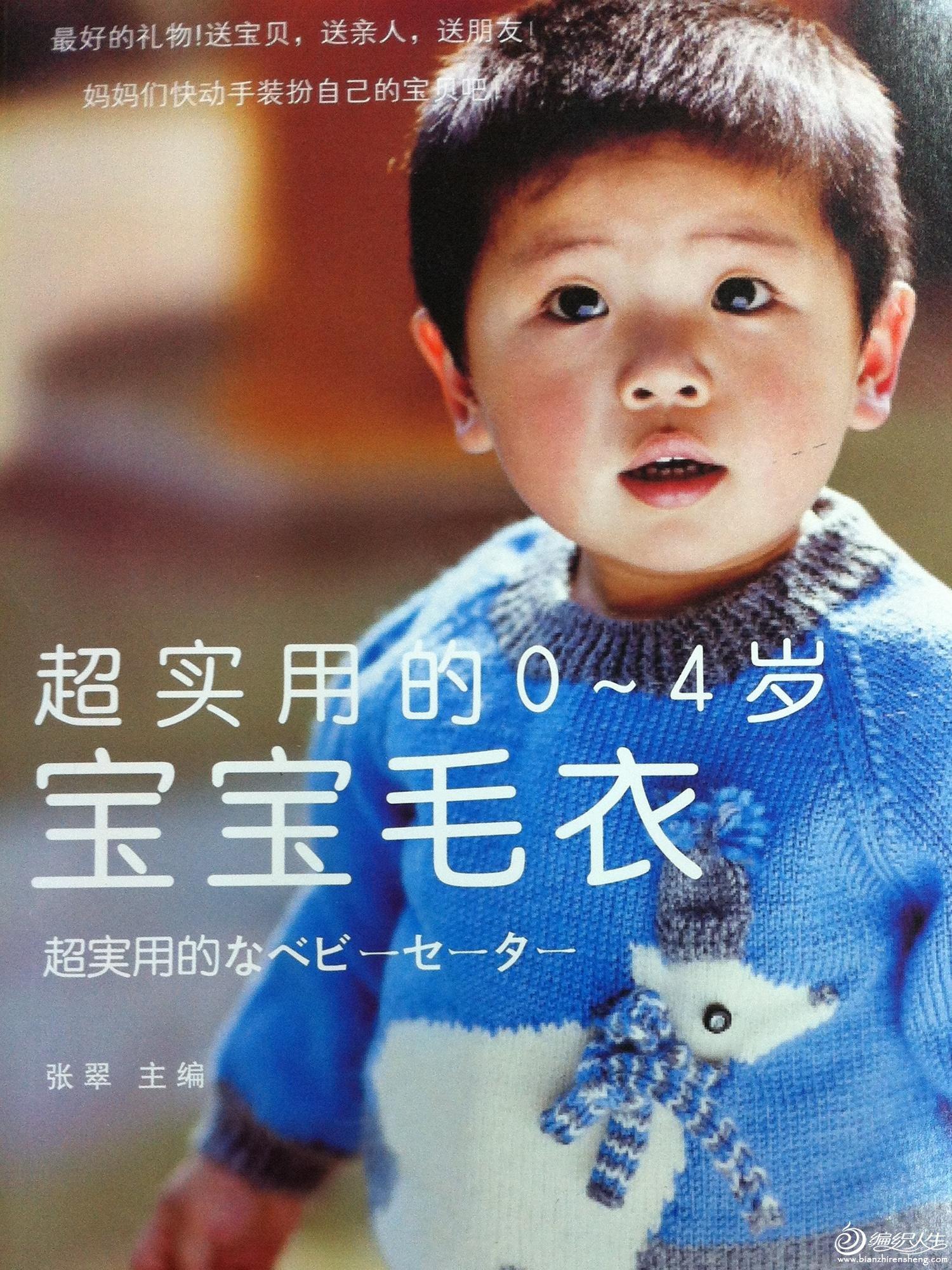 0-4岁宝宝毛衣书