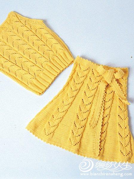 LH176_0212 Желтый топ и юбка с запахом(黄色背心套装裙B).jpg