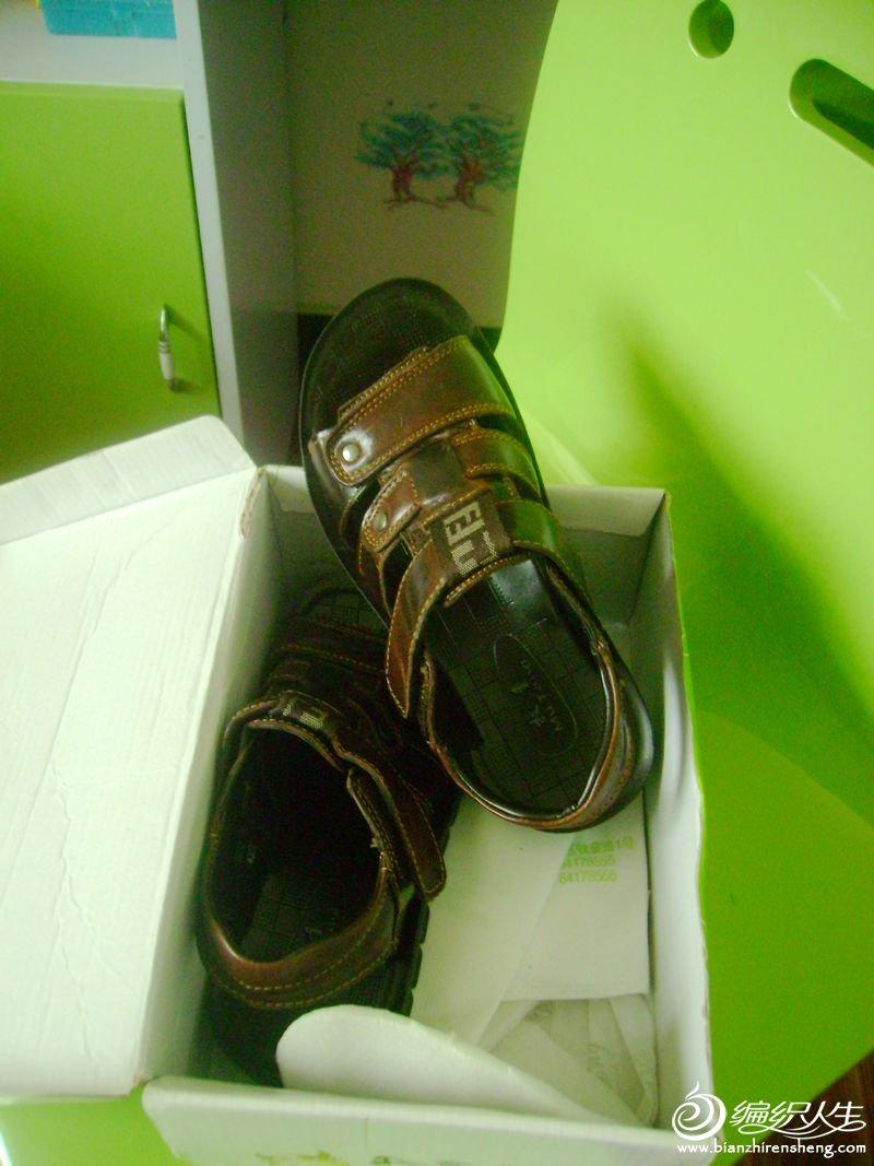 真皮男童鞋