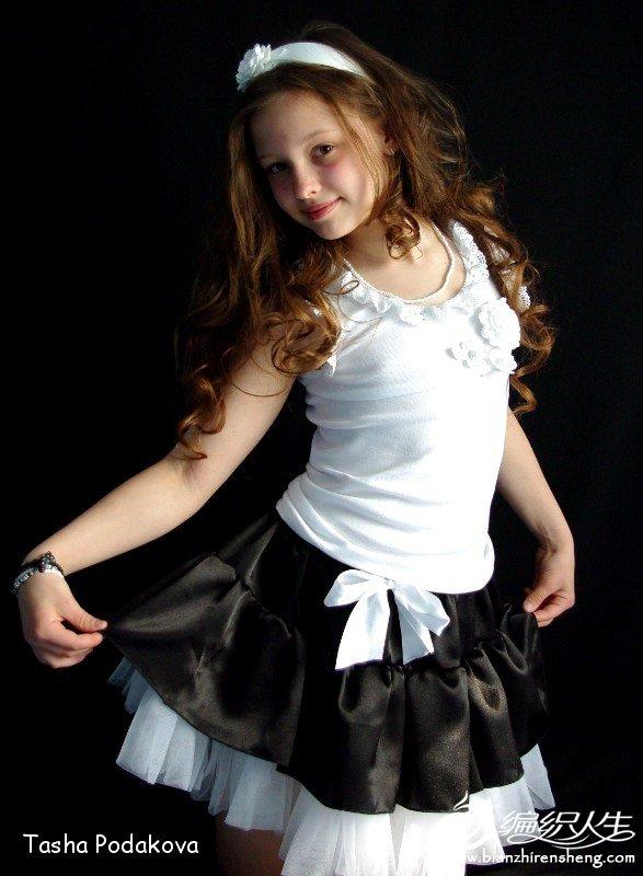 花童裙黑白.jpg