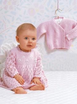 0-3个月宝宝连衣裙及外套