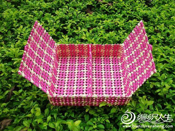 紫米格子双盖分隔收纳盒 (1).JPG