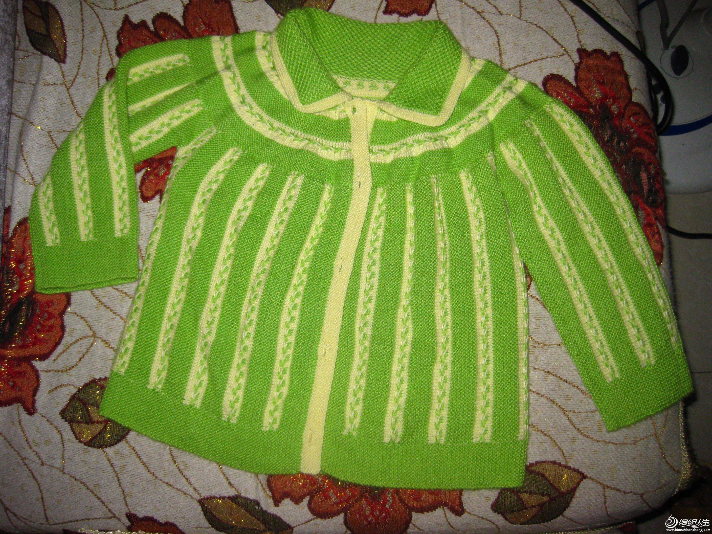 横织宝宝开衫