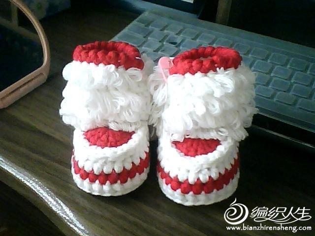 我仿的宝宝鞋,钩织的