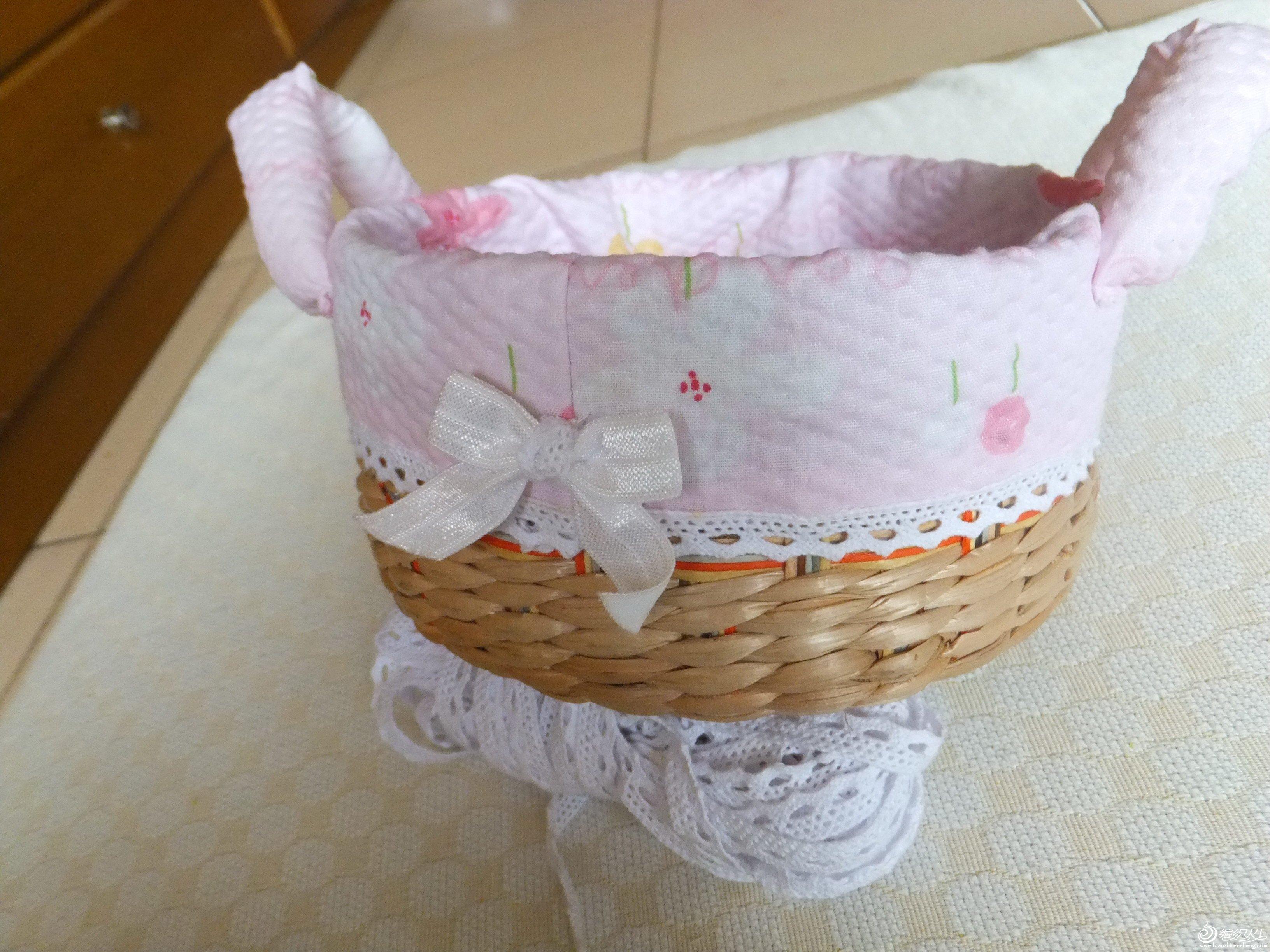 蝴蝶结是女儿让缝上去的