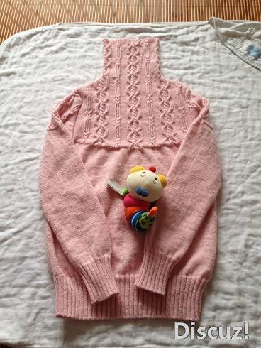 粉色套头衫叠.JPG