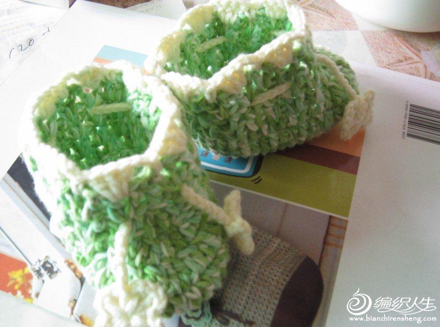 绿色宝宝鞋.JPG