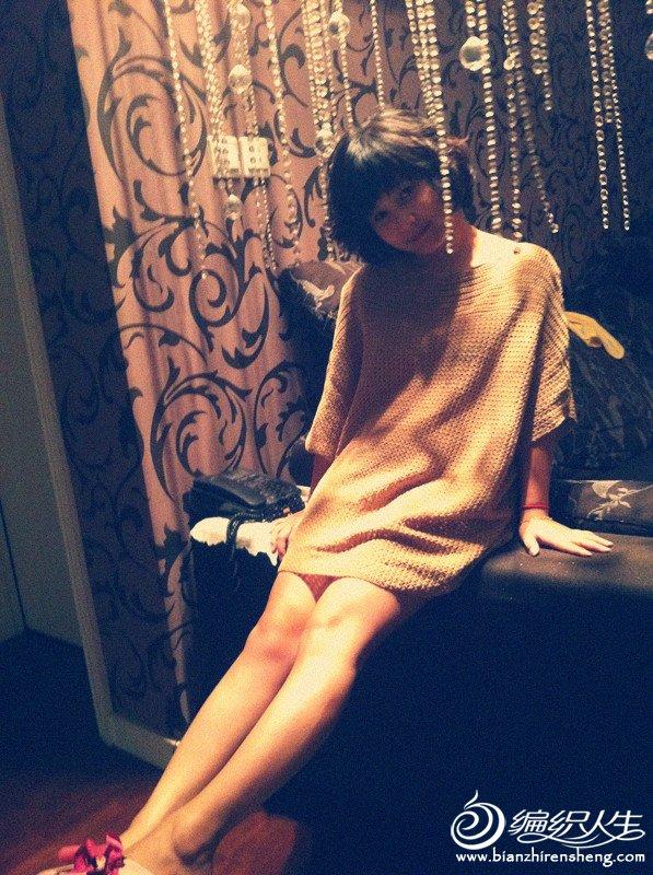 棉麻钩的蝙蝠袖裙裙.jpg