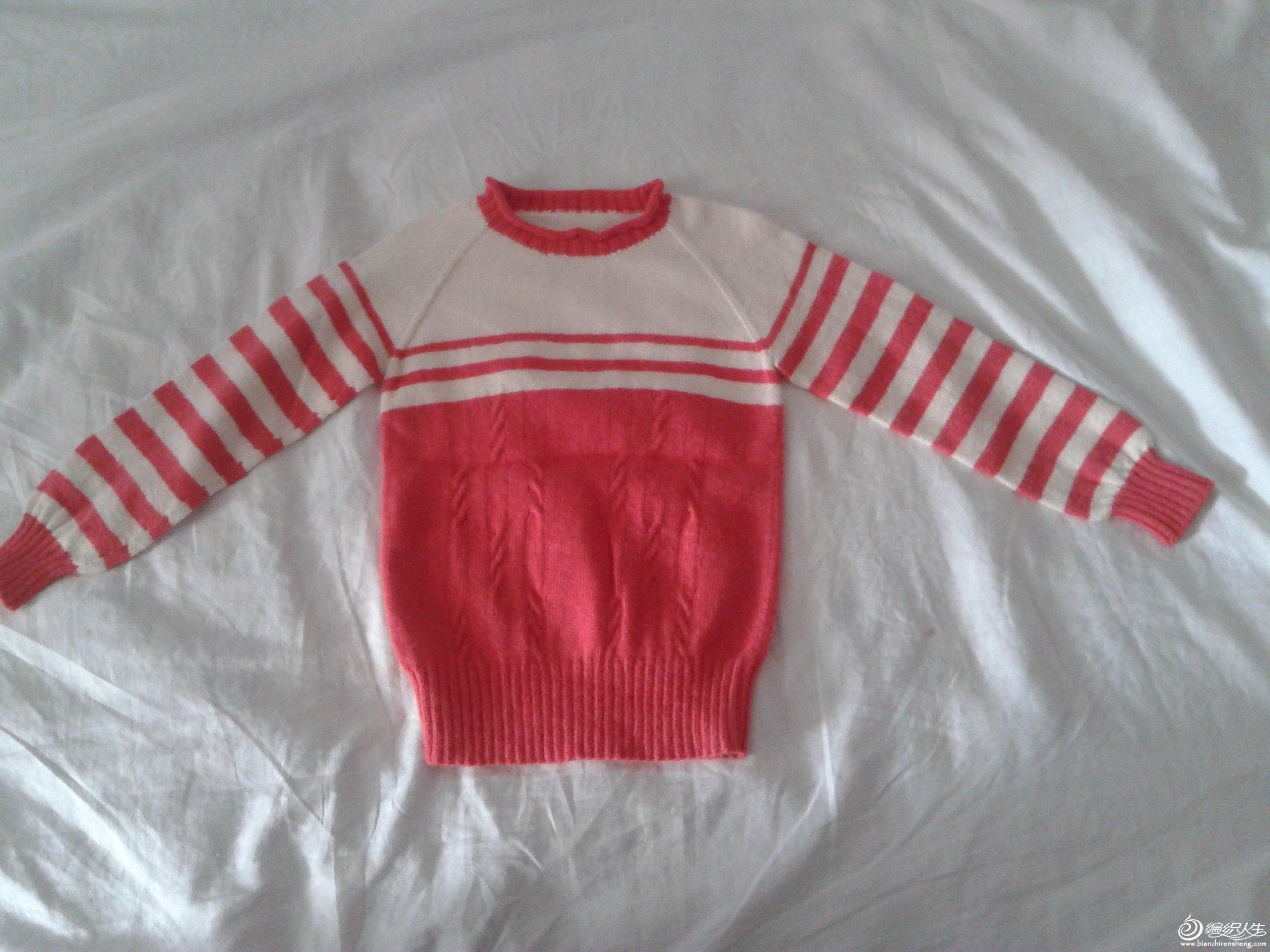 女儿的小毛衣