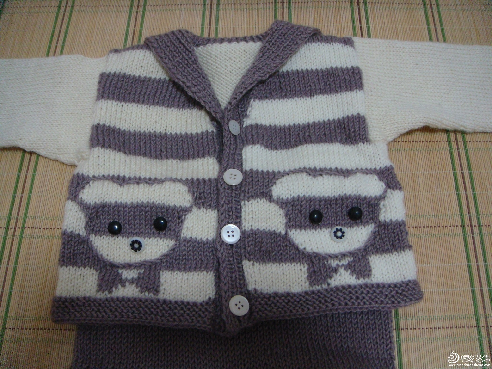 我的编织作品-海员套装