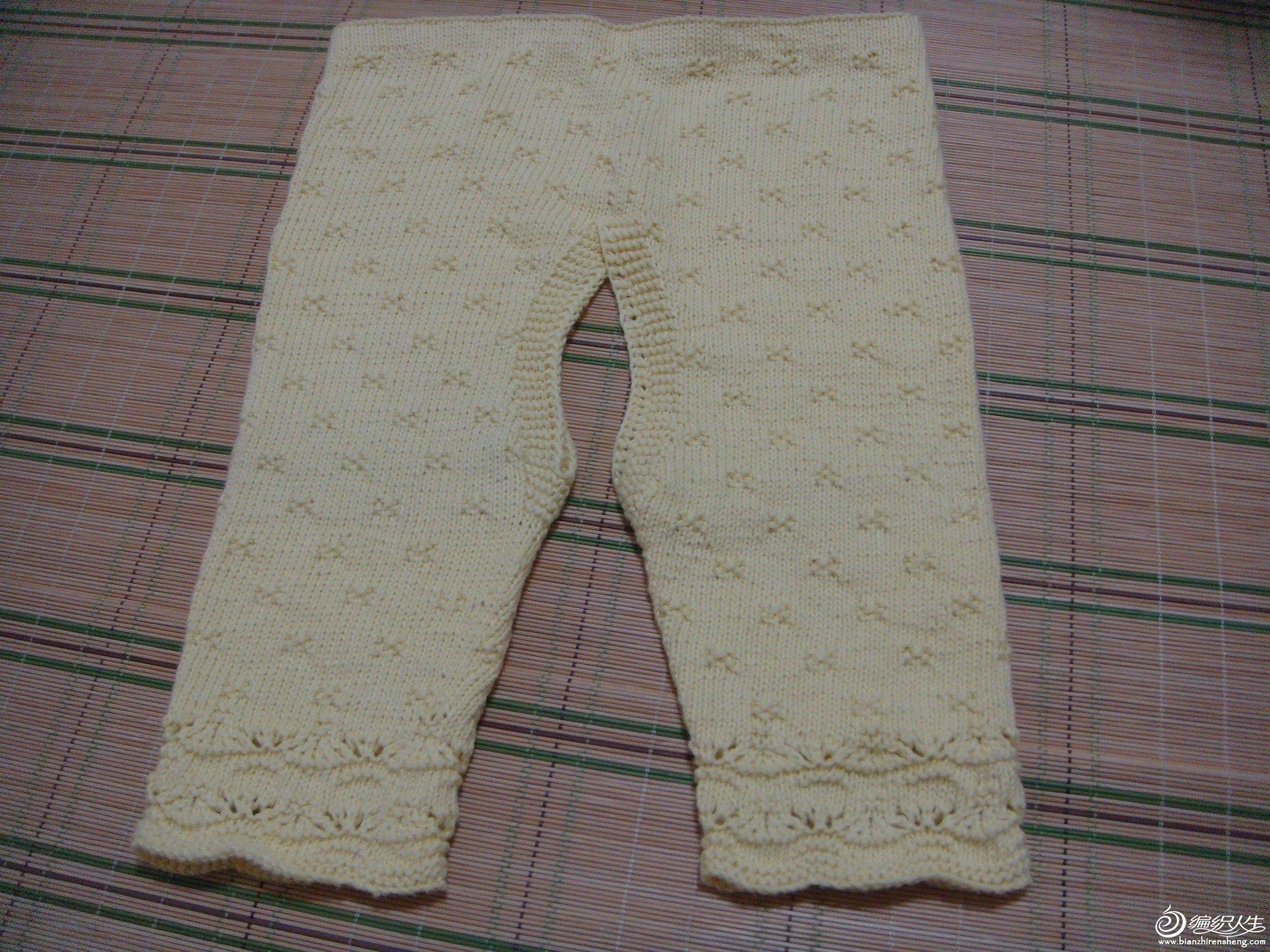 童装--开裆裤(前)