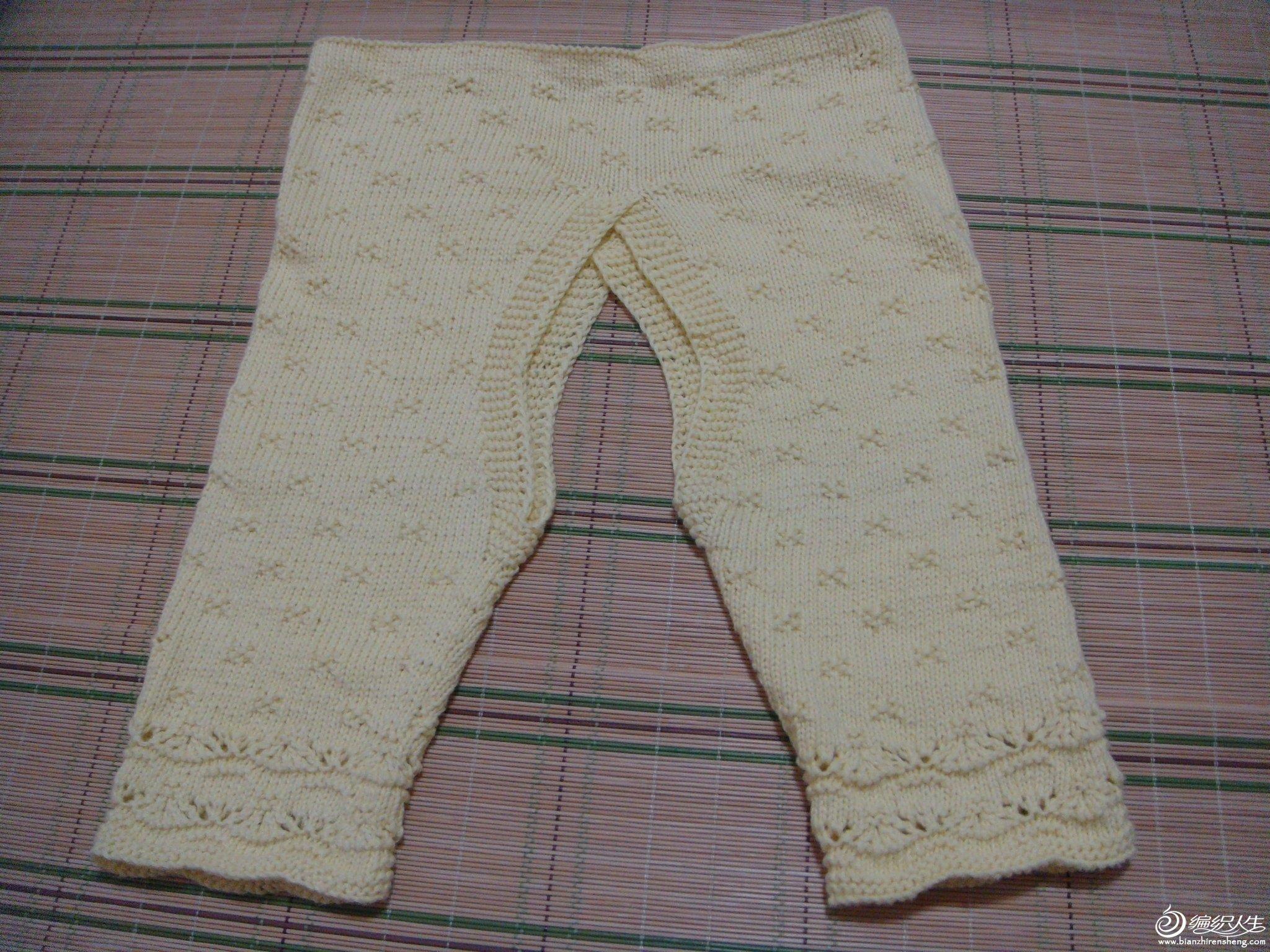 童装--开裆裤(后)