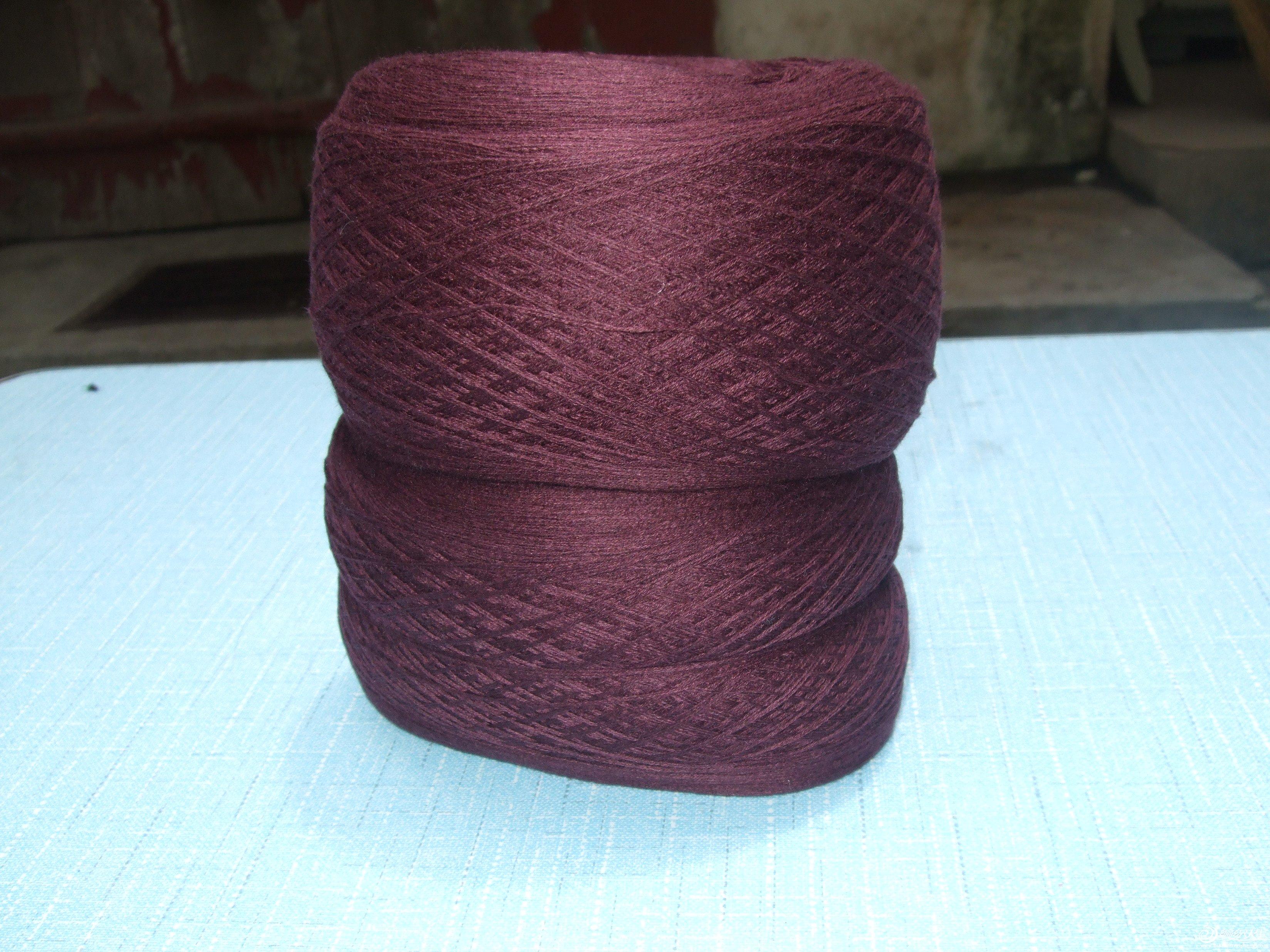 酒红色 毛线 一斤 20元