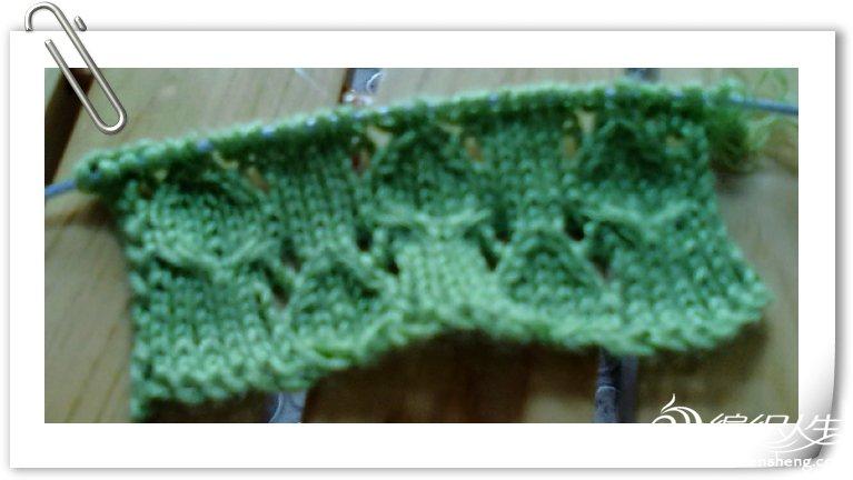 绿色横织短袖