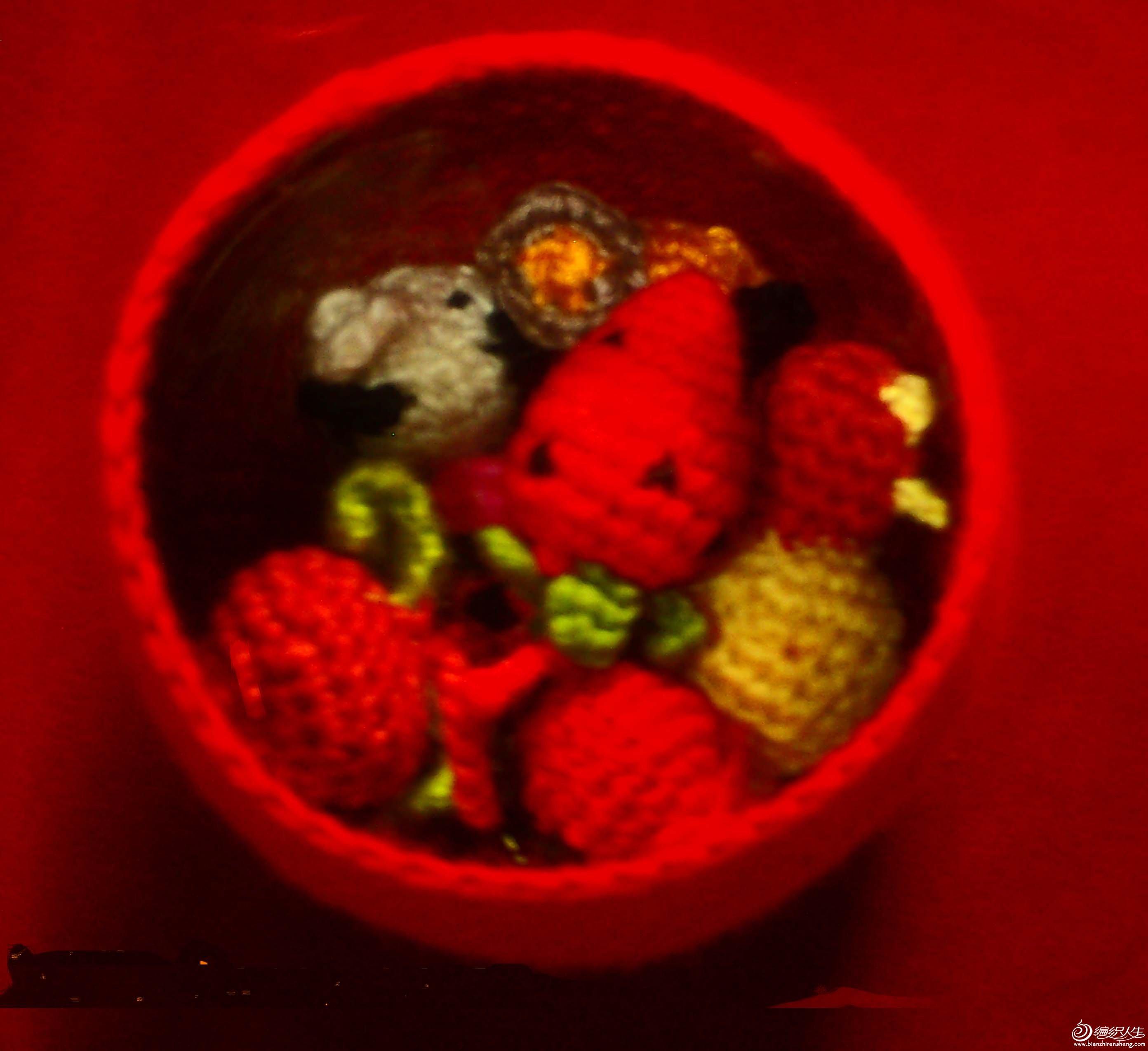 里面有草莓哦
