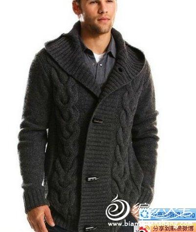 男士毛衣外套