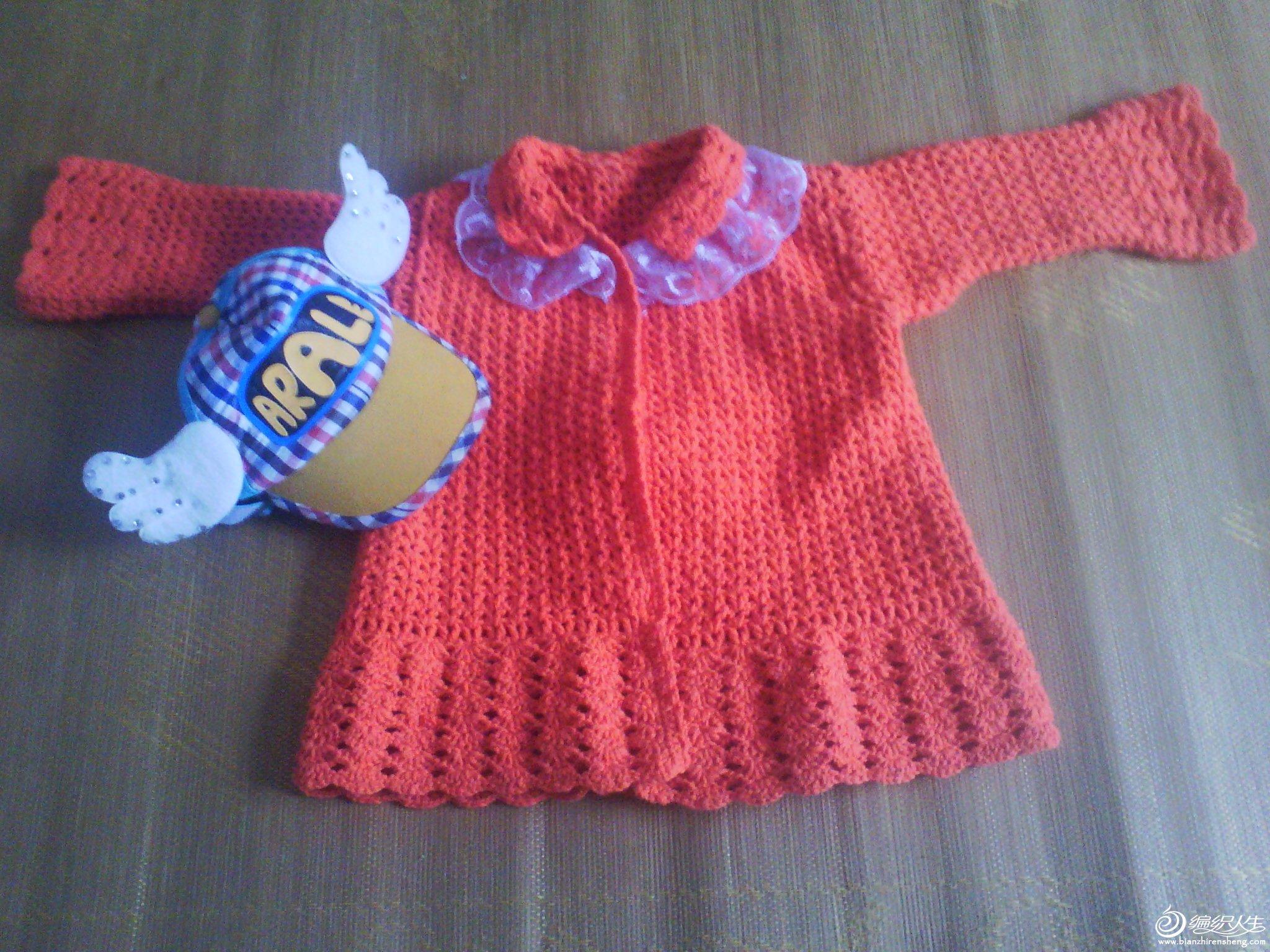 女宝毛衣外套的钩法