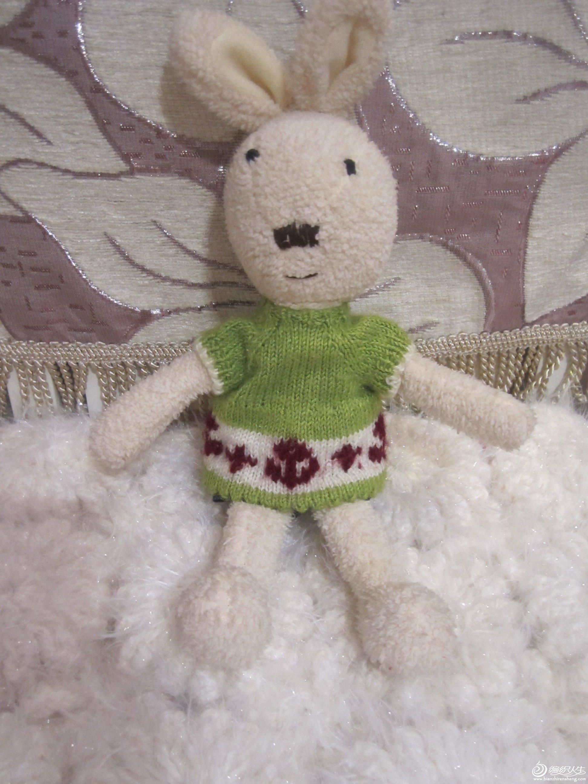 小兔的毛衣
