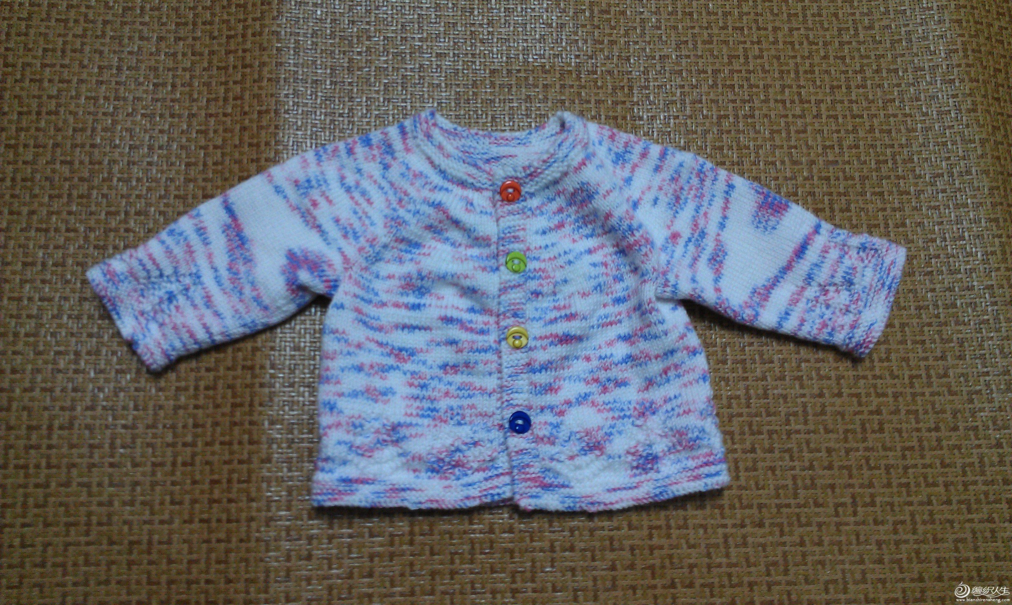 小开衫,宝宝长太快,貌似已经穿不上了