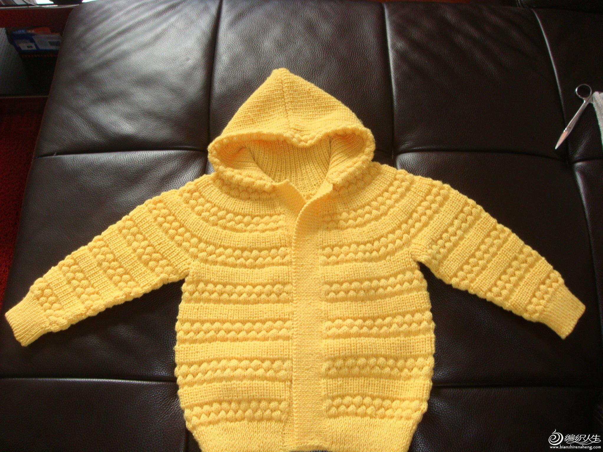初生婴儿开衫毛衣织法图片_初生婴儿开衫毛衣织法图片