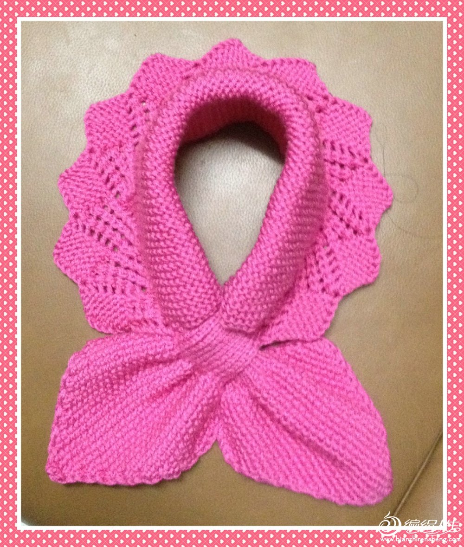 织围巾时如何接线