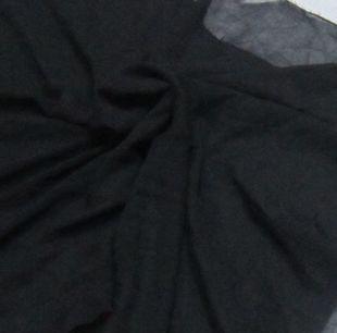 15元出,一米黑色雪纺,幅宽1.52米