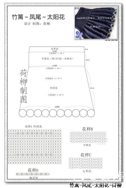 凤尾太阳花裙结构图--.jpg