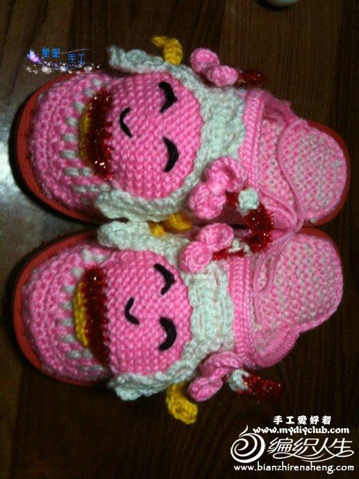 代卖钩针编织包包 +编织宝宝鞋袜高清图片