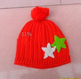仿瞳娘的星星帽