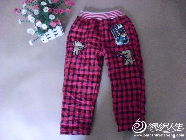 红格子裤1.JPG
