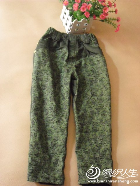 绿玫瑰裤子.JPG