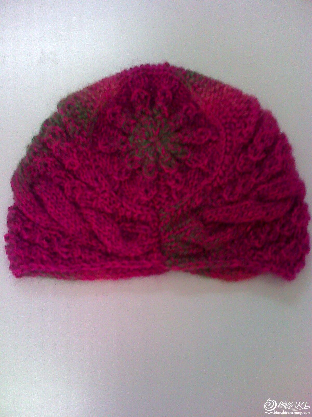编织人生怎样织帽子_第一次学习织的帽子_编织人生论坛