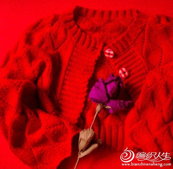大红宝宝棉披肩