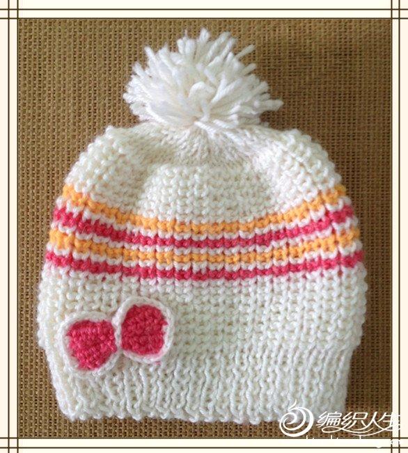 一款简单又可爱的帽子