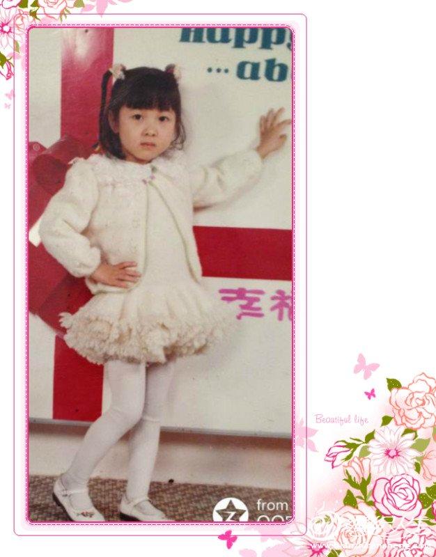 这件小裙子可是我18年前的作品哟。