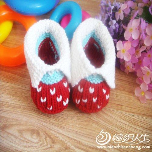 婴儿鞋 红色翻绑1.jpg