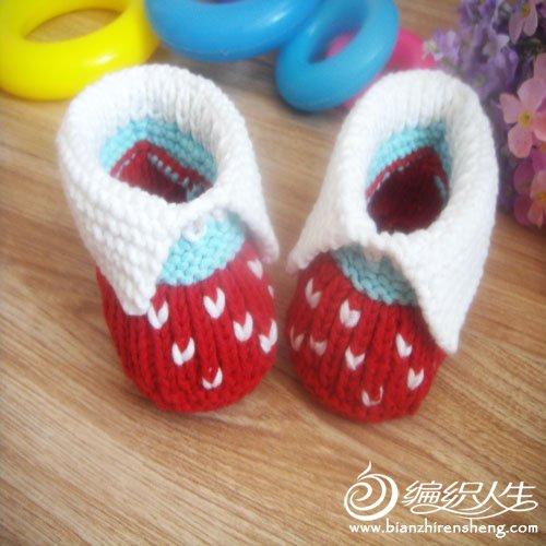婴儿鞋 红色翻绑2.jpg