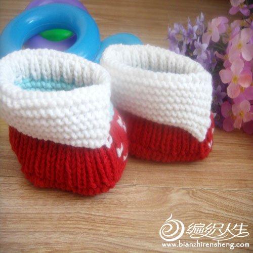 婴儿鞋 红色翻绑3.jpg