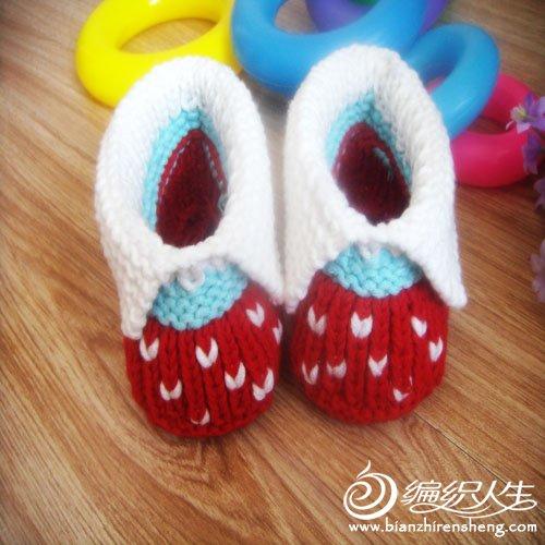 婴儿鞋 红色翻绑4.jpg