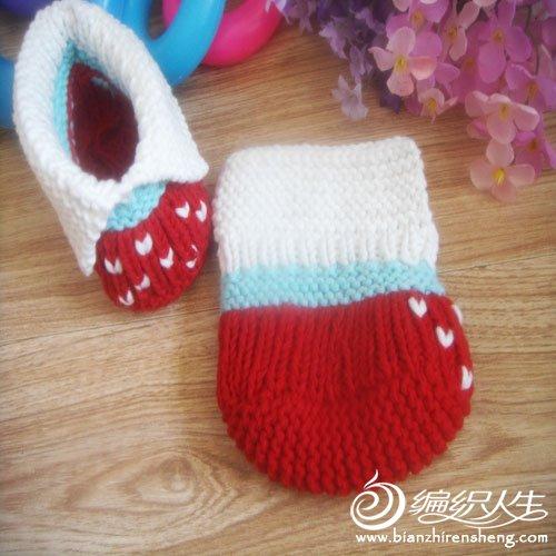 婴儿鞋 红色翻绑5.jpg