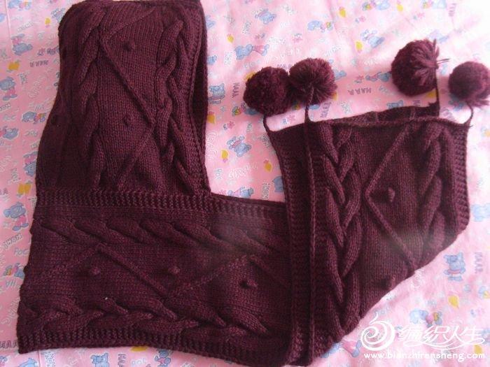 羊绒连帽围巾,15元,已售