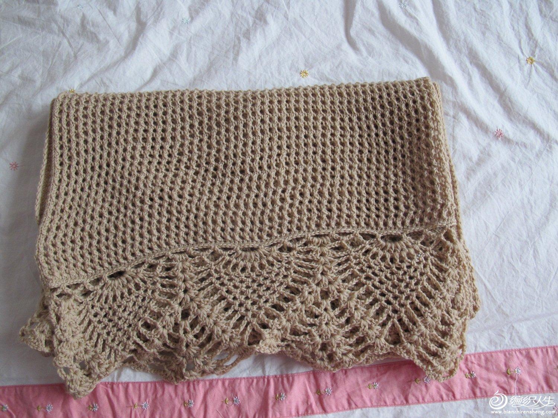 整理后的围巾图