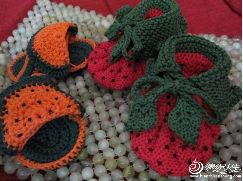 西瓜鞋和草莓鞋