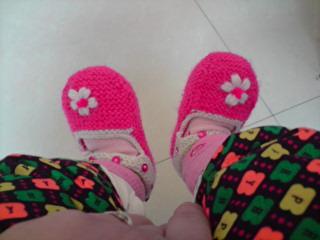 四五个月时穿的鞋子