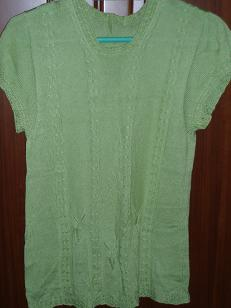 余,绿蝴蝶短袖1.JPG