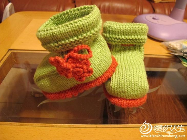 绿色婴儿靴子.JPG