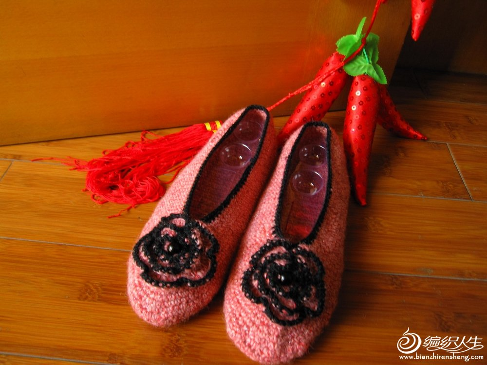 漂亮的毛线鞋 013.jpg