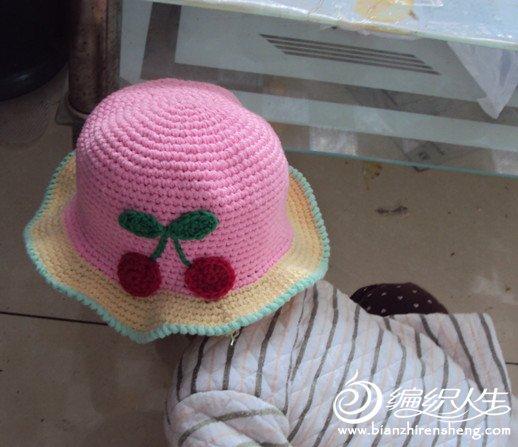新手钩的宝宝帽子