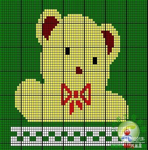 可爱的儿童卡通毛衣(有海量图片和超清晰图解)-编织